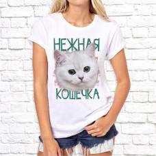 """Футболка """"Женский принт"""" 13"""