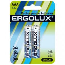 Аккумулятор ERGOLUX R03 Ni-Mh 600mAh  BP-2