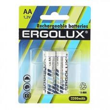 Аккумулятор ERGOLUX R06 NiMh 2200mAh BP2