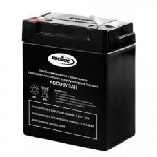 Аккумулятор для фонарей  КОСМОС 6В 2Аh *