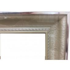 Багет А 30x40  BAG0031 серебро/багет 60*37мм