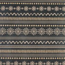 Упак.материал «Снежный орнамент» 50*70   4471644