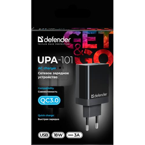 Зарядное устр. DEFENDER UPA-101 1USB 3.0