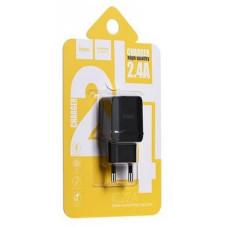 Зарядное устр. HOCO C22A USB+ iPhone5-8/2,4А